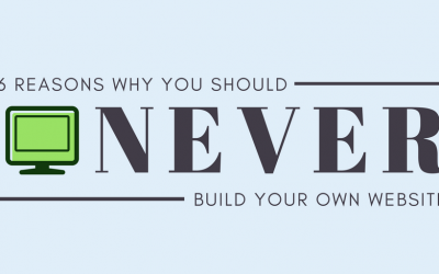 6 Reasons Why You Should Never Build Your Own Website