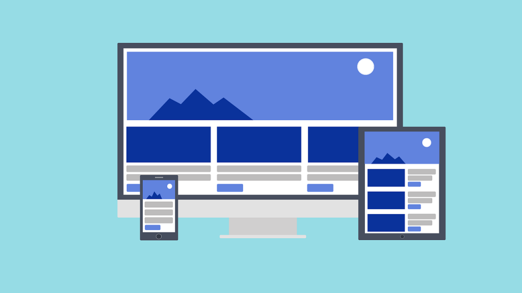 visual examples of responsive web design